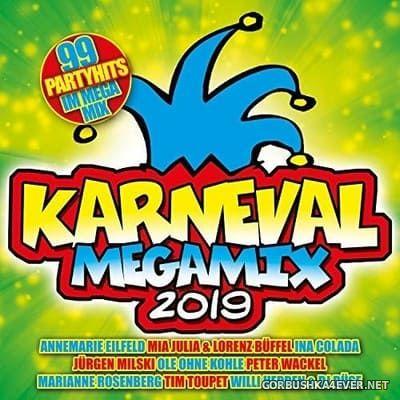 Karneval Megamix 2019 [2018] / 2xCD / Mixed by DJ Deep