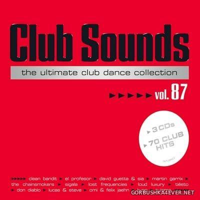 Club Sounds vol 87 [2018] / 3xCD