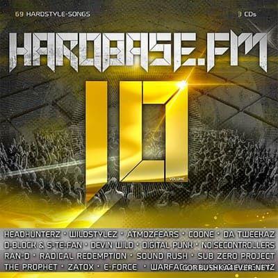 Hardbase.FM vol 10 [2018] / 3xCD