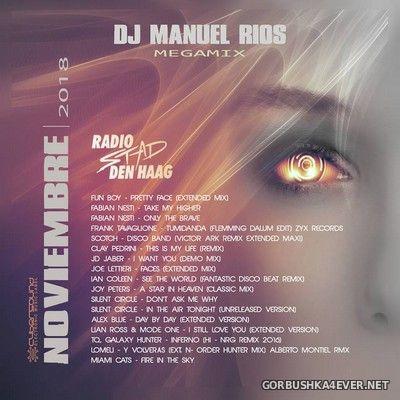 DJ Manuel Rios - Noviembre Megamix 2018