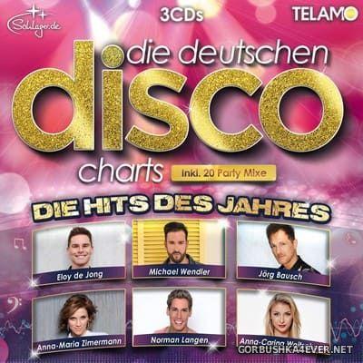 Die Deutschen Disco Charts (Die Hits Des Jahres) [2018] / 3xCD