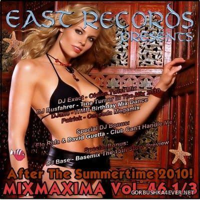[East Records] Mixmaxima vol 46⅓ [2010]