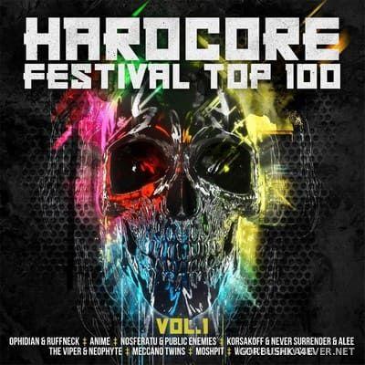 Hardcore Festival Top 100 vol 1 [2018] / 2xCD / Mixed by DJ Deep