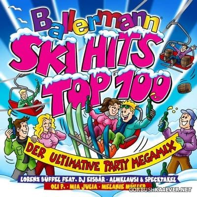 Ballermann Ski Hits Top 100 - Der Ultimative Party Megamix [2019] / 2xCD / Mixed by DJ Deep