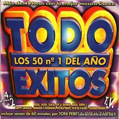[Vale Music] Todo Exitos 98 (Los 50 Nº1 Del Año) [1998] / 4xCD