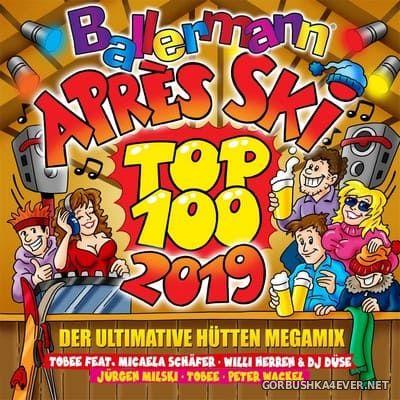 Ballermann Apres Ski Top 100 2019 - Der Ultimative Hütten Megamix [2018] / 2xCD / Mixed by DJ Deep