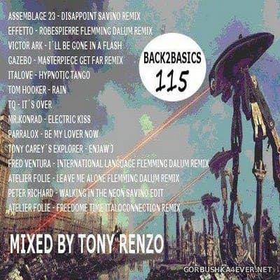 Back2Basics Italo Mix vol 115 [2019] by Tony Renzo