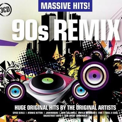 Massive Hits! - 90s Remix [2011] / 3xCD
