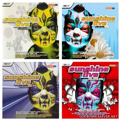 Sunshine Live vol 13 - vol 16 [2005] / 12xCD