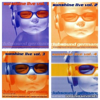 Sunshine Live vol 01 - vol 04 [2001-2002] / 9xCD