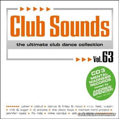 Club Sounds vol 63 [2012] / 3xCD