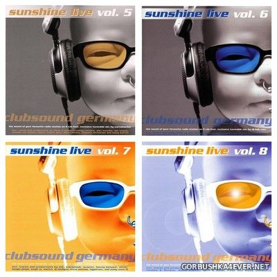 Sunshine Live vol 05 - vol 08 [2003] / 8xCD