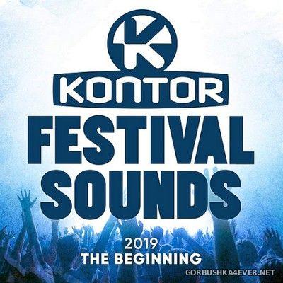 [Kontor] Festival Sounds 2019 - The Beginning [2019] / 3xCD
