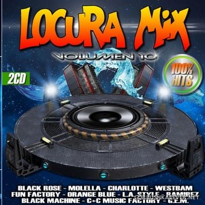 Locura Mix vol 10 [2018] / 2xCD