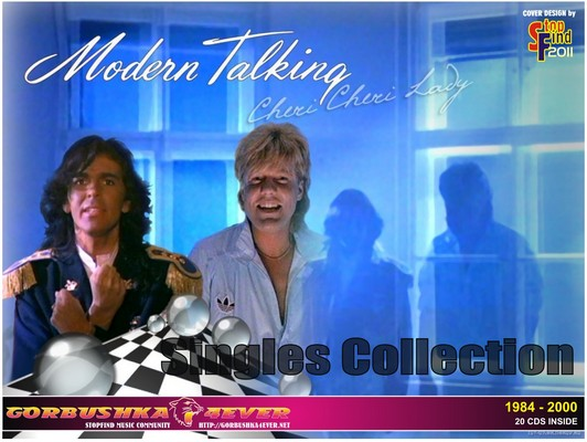 Modern Talking - Singles Collection [1984-2000] / 20xCD