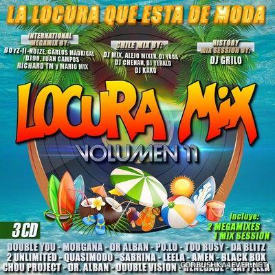 Locura Mix 11 [2019] / 3xCD
