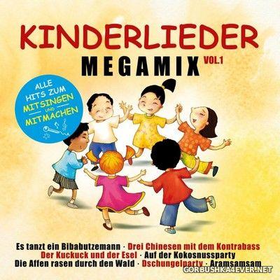 Kinderlieder Megamix vol 1 - Alle Hits Zum Mitsingen Und Mitmachen [2019] / 2xCD