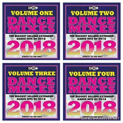 [DMC] Dance Mixes 2018 vol 1 - vol 4 [2019] / 4xCD Box Set