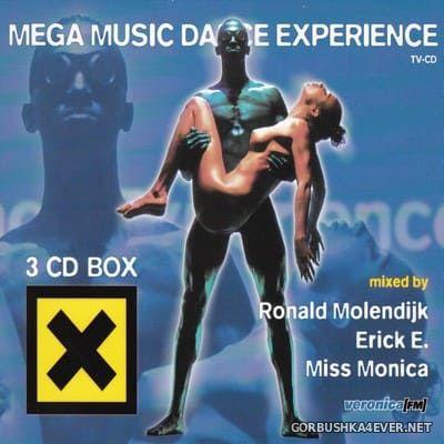 Mega Music Dance Experience [1997] / 3xCD / Mixed by Ronald Molendijk, Erick E. & Miss Monica