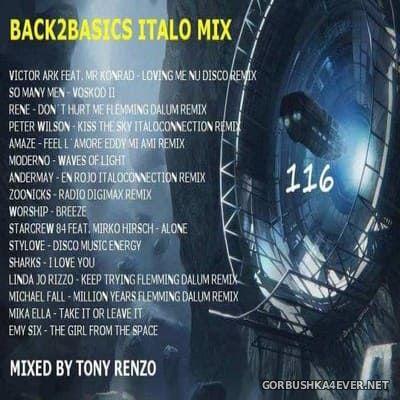 Back2Basics Italo Mix vol 116 [2019] by Tony Renzo