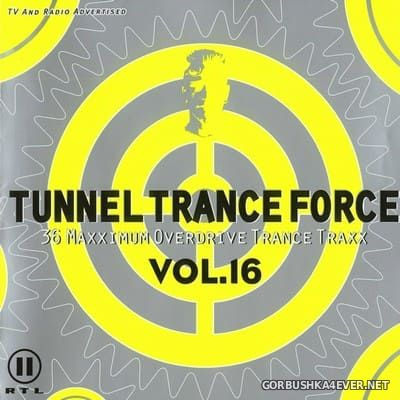 Tunnel Trance Force vol 16 [2001] / 2xCD / Mixed by DJ Dean