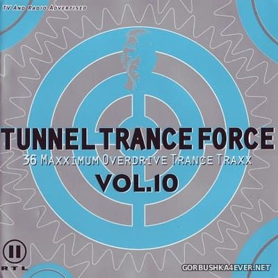 Tunnel Trance Force vol 10 [1999] / 2xCD / Mixed by DJ Dean