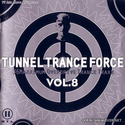 Tunnel Trance Force vol 8 [1999] / 2xCD / Mixed by DJ Dean