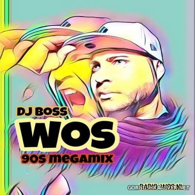 DJ Ridha Boss - WOS The 90's Megamix [2019]