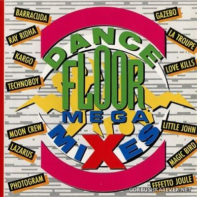 [Delta Music] Dance Floor Mega Mixes [1989] / 2xCD