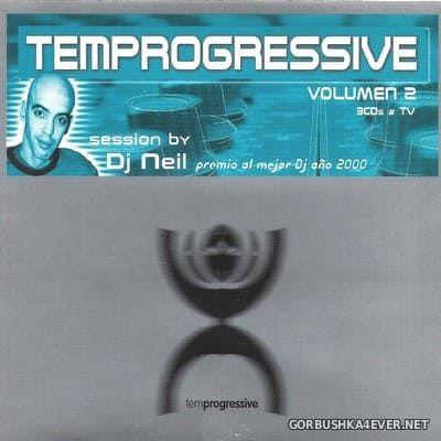 [Tempo Music] Temprogressive Volumen 2 [2001] / 3xCD / Mixed by DJ Neil