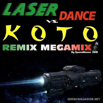 DJ SpaceMouse - Laserdance vs Koto Remix Megamix [2019]