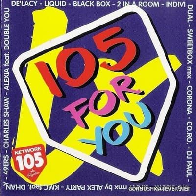 [No Colors] 105 For You vol 4 [1995] Mixed by Max Baffa