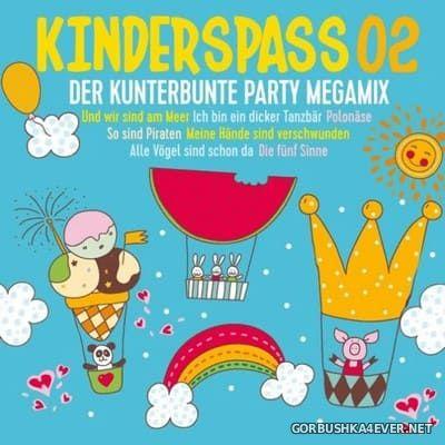 Kinderspass 02 - Der Kunterbunte Party Megamix [2019] / 2xCD / Mixed by DJ Deep