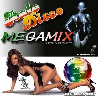 DJ SpaceMouse - Italo Disco Megamix (Kirsi's Request) [2019]
