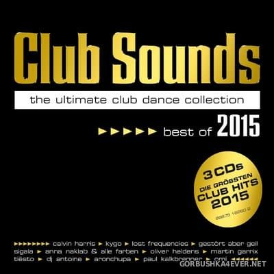 Club Sounds - Best Of 2015 [2015] / 3xCD