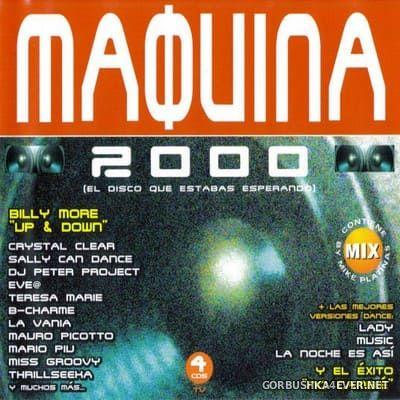 [Tempo Music] Maquina 2000 [2000] / 4xCD