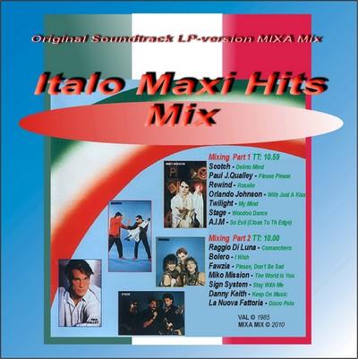 Mixa Mix - Italo Maxi Hits Mix [2010]