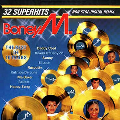 Boney M - The Best Of 10 Years: 32 Superhits Nonstop-Digital Remix [1986]
