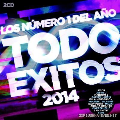 Todo Exitos 2014 (Los Numero 1 del Año) [2014] / 2xCD