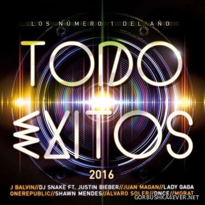 Todo Exitos 2016 (Los Numero 1 del Año) [2016] / 2xCD