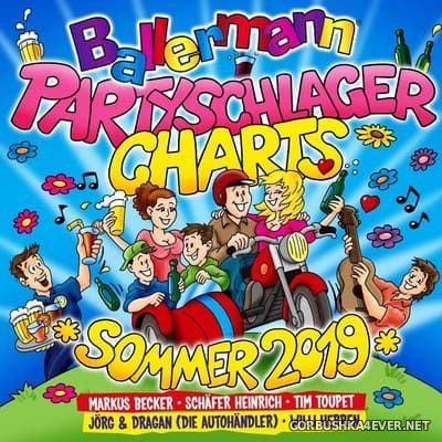 Ballermann Partyschlager Charts - Sommer 2019 [2019] / 2xCD