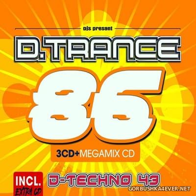 D.Trance 86 (Incl. D-Techno 43) [2019] / 4xCD