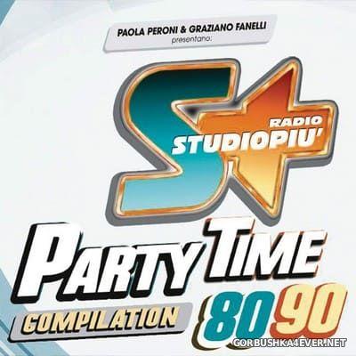 Radio StudioPiu - Party Time Compilation 80/90 [2019] / 2xCD