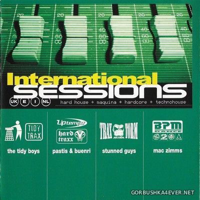[Tempo Music] International Sessions [2001] / 4xCD / Mixed by Tidy Boys, Pastis & Buenri, Stunned Guys, Mac Zimms