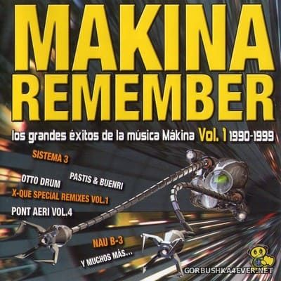 [Bit Music] Makina Remember [2008] / 2xCD