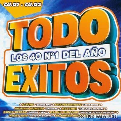 Todo Exitos 2004 (Los Numero 1 del Año) [2004] / 2xCD