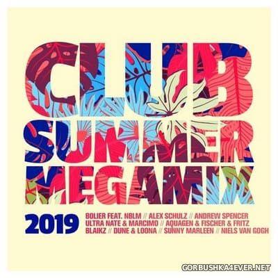 Club Summer Megamix 2019 [2019] / 2xCD / Mixed by DJ Deep