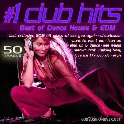 #1 Club Hits 2015 (Best Of Dance House & EDM) [2015]