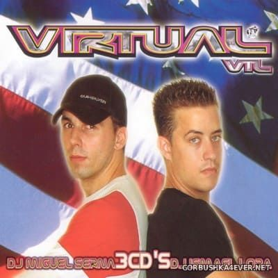 [Contraseña Records] Virtual VTL vol 1 [2002] / 3xCD / Mixed by Miguel Serna & Ismael Lora