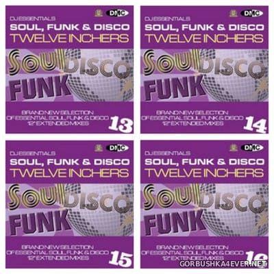 [DMC] DJ Essentials - Soul, Funk & Disco Twelve Inchers vol 13 - vol 16